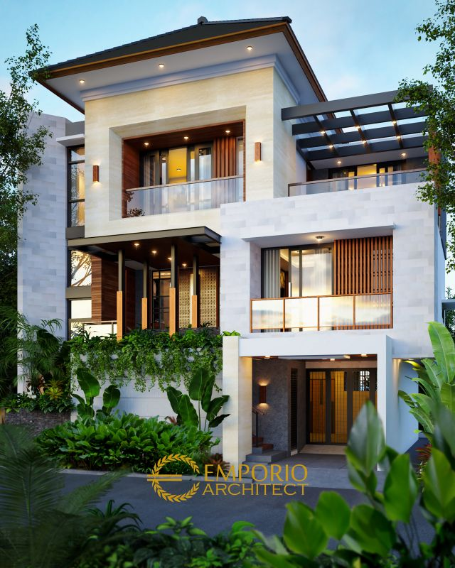 Mr. Abdul Hakim Modern House 3 Floors Design - Jakarta