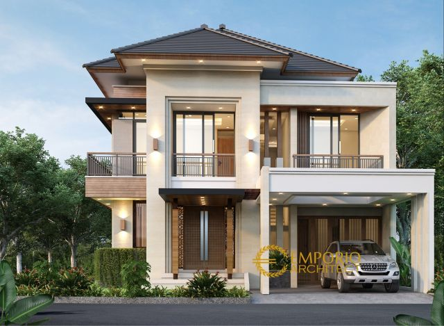 Mr. Azhar Modern House 2 Floors Design - Jakarta