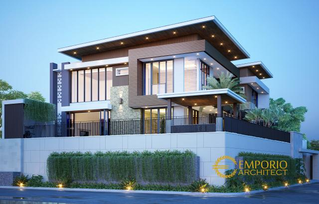 Mr. Bayu Modern House 3 Floors Design - Jakarta