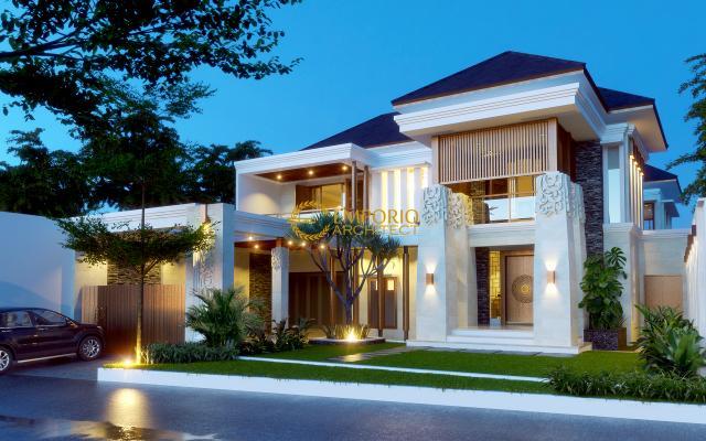 Mr. Buddy Villa Bali House 2 Floors Design - Jakarta