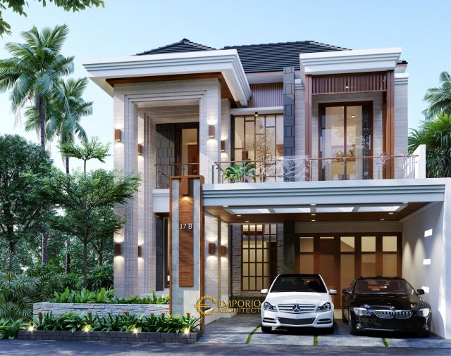 Mr. Henry Modern House 2 Floors Design- Jakarta