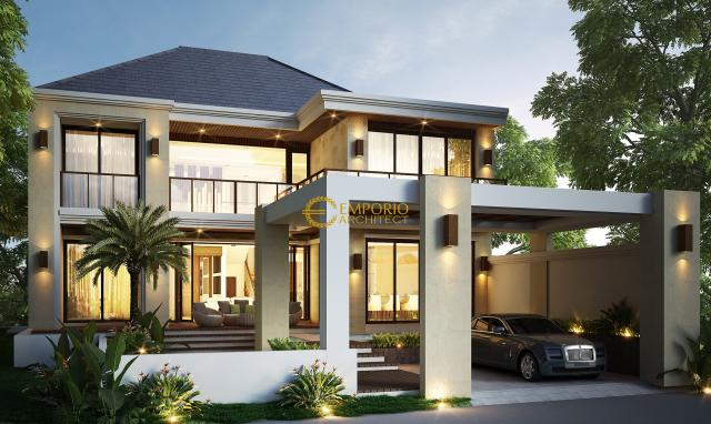 Mr. Ismail Modern House 2 Floors Design - Jakarta