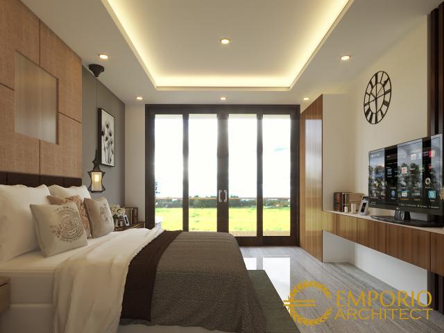 Desain Rumah Modern 3 Lantai Bapak Iswandi di  Bekasi