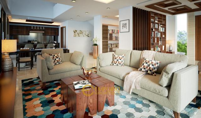 Mrs. Dina Modern House 2 Floors Design - BSD, Tangerang