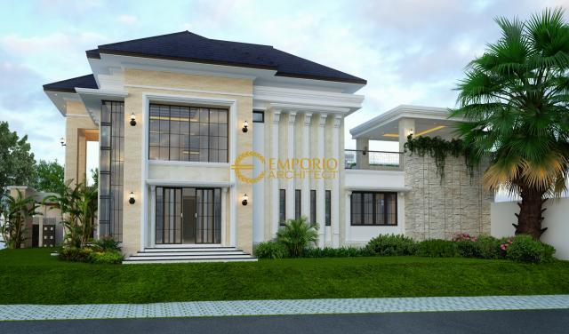 Mrs. Miranda Classic House 2 Floors Design - Jakarta