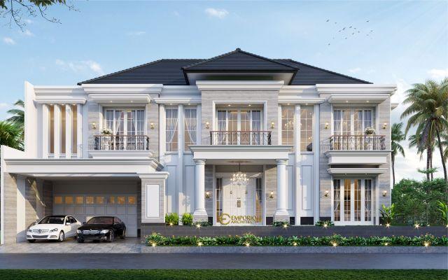 Mrs. Hera Classic House 2 Floors Design - Jakarta Selatan