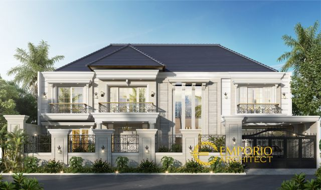 Mrs. Zaitin Classic House 2 Floors Design - Kalimantan Selatan