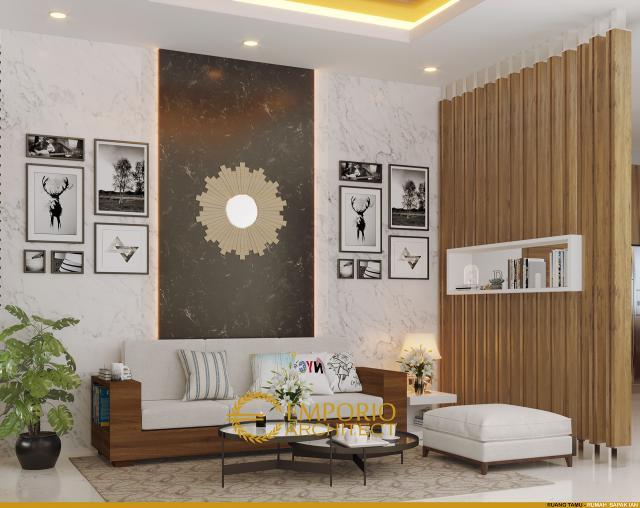 Desain Rumah Villa Bali 1 Lantai Bapak Ian di  Palembang, Sumatera Selatan