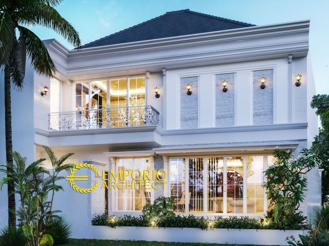 Mr. Frans Classic House 2 Floors Design - Palembang, Sumatera Selatan