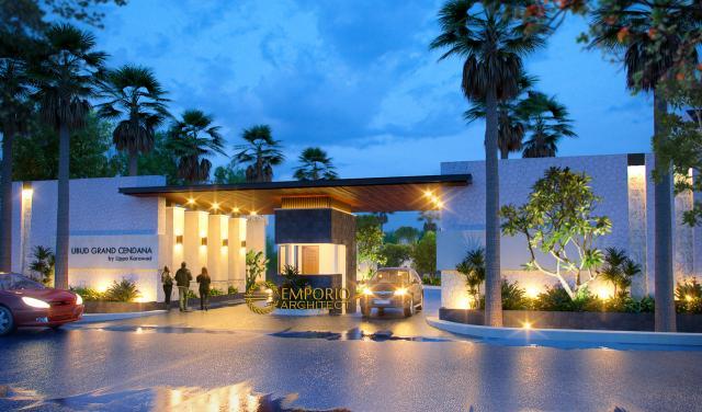 Desain Exterior 1 Ubud Grand Cendana Modern 1 Lantai di Lippo Karawaci, Tangerang