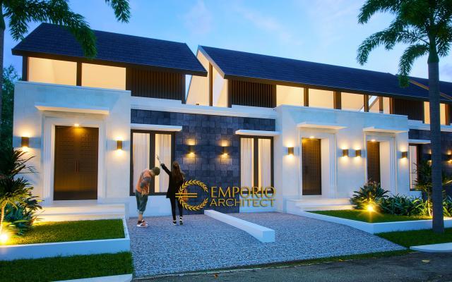 Desain Exterior 3 Ubud Grand Cendana Modern 1 Lantai di Lippo Karawaci, Tangerang