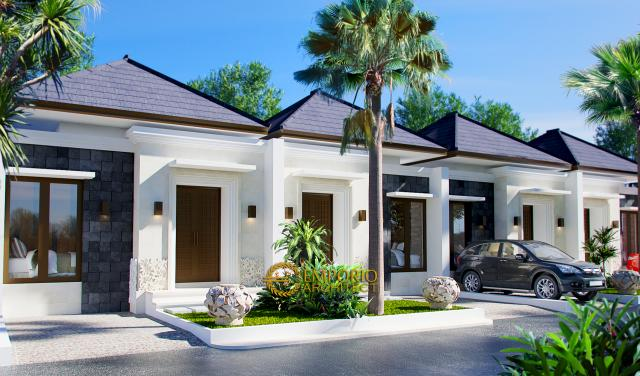 Desain Exterior 4 Ubud Grand Cendana Modern 1 Lantai di Lippo Karawaci, Tangerang
