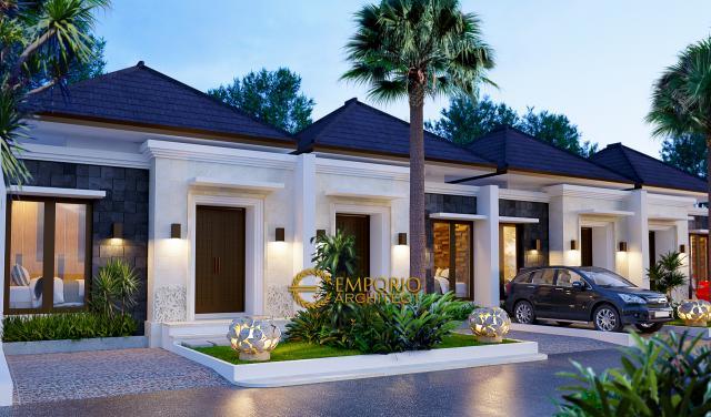 Desain Exterior 5 Ubud Grand Cendana Modern 1 Lantai di Lippo Karawaci, Tangerang