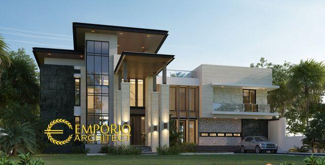 Mr. Fajar Modern House 3 Floors Design - Purwakarta, Jawa Barat