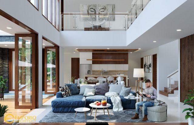 Desain Rumah Modern 2 Lantai Bapak Jefry di  Sulawesi
