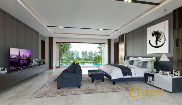 Desain Rumah Modern 2 Lantai Bapak Andy di  Sumatera Utara
