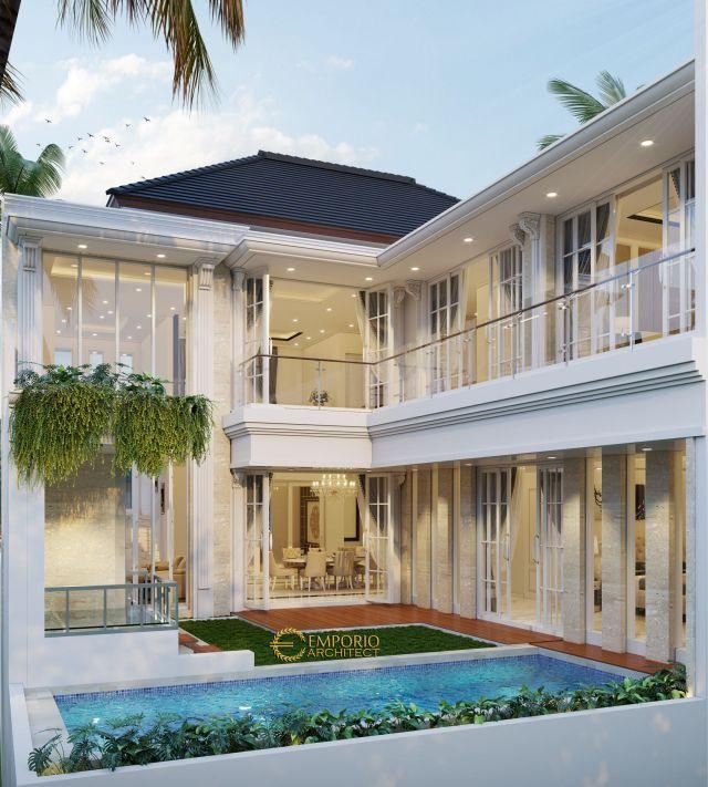 Mrs. Siska Classic House 2 Floors Design - Tangerang
