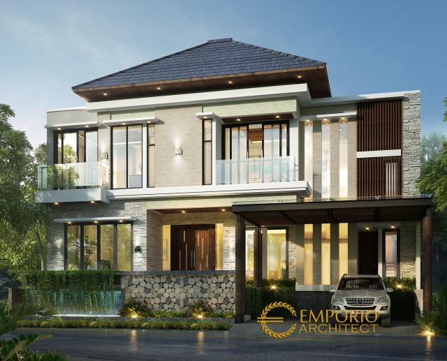 Mrs. Desi Modern House 2 Floors Design - Tangerang