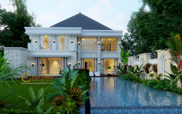 Mr. Gatot Classic House 2 Floors Design - Yogyakarta
