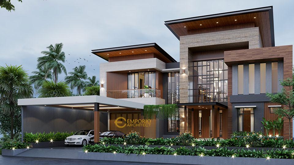 Desain Rumah Style Modern Tropis