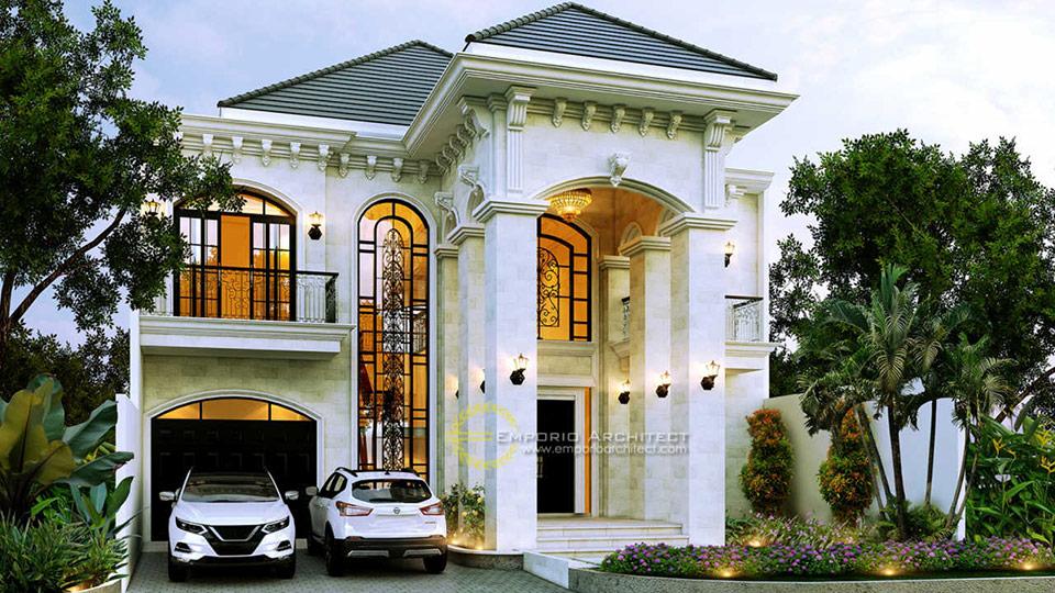 Desain Rumah Style Mediteran Tropis