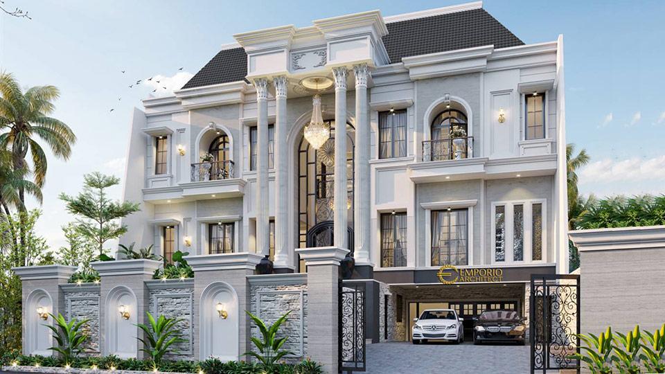 Desain Rumah Style Classic Tropis